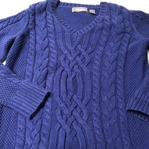 Liz Claiborne cotton sweater